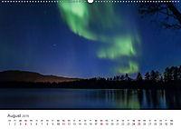 Nordlichter - Magische Nächte in Skandinavien (Wandkalender 2019 DIN A2 quer) - Produktdetailbild 8