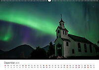 Nordlichter - Magische Nächte in Skandinavien (Wandkalender 2019 DIN A2 quer) - Produktdetailbild 12