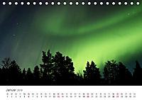 Nordlichter - Magische Nächte in Skandinavien (Tischkalender 2019 DIN A5 quer) - Produktdetailbild 1
