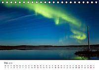 Nordlichter - Magische Nächte in Skandinavien (Tischkalender 2019 DIN A5 quer) - Produktdetailbild 5