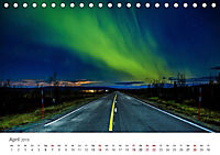 Nordlichter - Magische Nächte in Skandinavien (Tischkalender 2019 DIN A5 quer) - Produktdetailbild 4