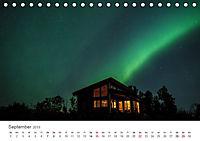 Nordlichter - Magische Nächte in Skandinavien (Tischkalender 2019 DIN A5 quer) - Produktdetailbild 9