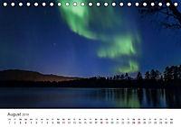 Nordlichter - Magische Nächte in Skandinavien (Tischkalender 2019 DIN A5 quer) - Produktdetailbild 8