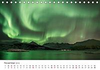 Nordlichter - Magische Nächte in Skandinavien (Tischkalender 2019 DIN A5 quer) - Produktdetailbild 11
