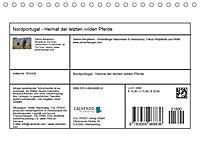 Nordportugal - Heimat der letzten wilden Pferde (Tischkalender 2019 DIN A5 quer) - Produktdetailbild 13