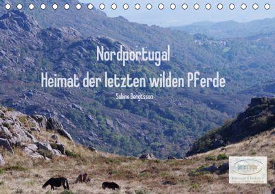 Nordportugal - Heimat der letzten wilden Pferde (Tischkalender 2019 DIN A5 quer), Sabine Bengtsson