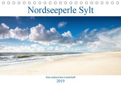 Nordseeperle Sylt (Tischkalender 2019 DIN A5 quer), N N