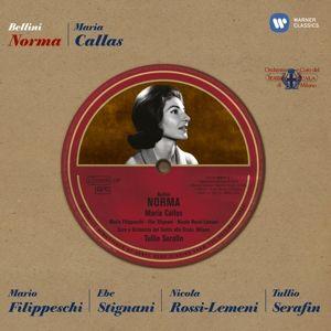 Norma, Callas, OTSM+Chor, Serafin