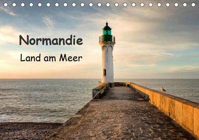 Normandie - Land am Meer (Tischkalender 2019 DIN A5 quer), Anne Berger