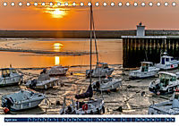 Normandie - raue Küsten, sanfte Hügel (Tischkalender 2019 DIN A5 quer) - Produktdetailbild 4