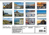 Normandie - raue Küsten, sanfte Hügel (Wandkalender 2019 DIN A3 quer) - Produktdetailbild 13