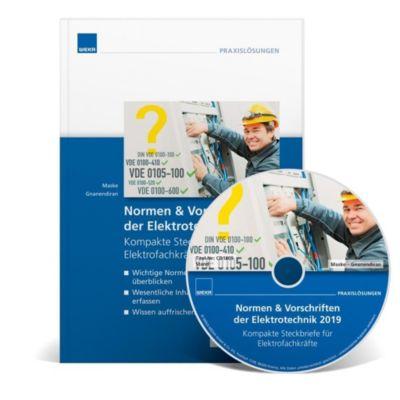 Normen & Vorschriften Elektrotechnik 2019, m. CD-ROM