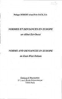 Normes et deviances en europe  un debat est-ouest, Collectif