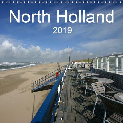 North Holland (Wall Calendar 2019 300 × 300 mm Square), SchnelleWelten