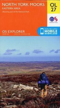 North York Moors - Eastern area 1 : 25 000, Ordnance Survey