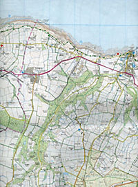 North York Moors - Eastern area 1 : 25 000 - Produktdetailbild 2