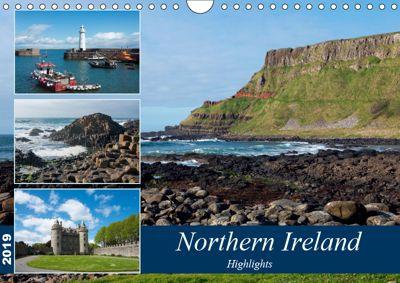 Northern Ireland (Wall Calendar 2019 DIN A4 Landscape), Frauke Scholz