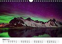 Northern Lights in Iceland (Wall Calendar 2019 DIN A4 Landscape) - Produktdetailbild 3