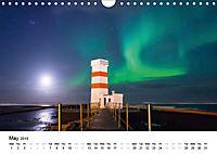 Northern Lights in Iceland (Wall Calendar 2019 DIN A4 Landscape) - Produktdetailbild 5