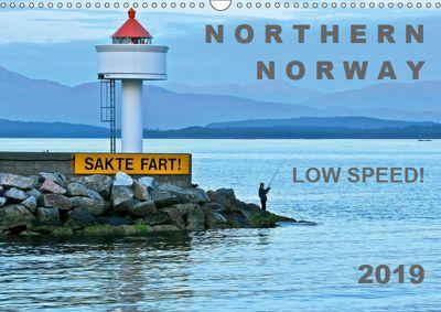 NORTHERN NORWAY - LOW SPEED! (Wall Calendar 2019 DIN A3 Landscape), Gabriele Rechberger