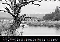 Northumberland Black and White (Wall Calendar 2019 DIN A3 Landscape) - Produktdetailbild 1