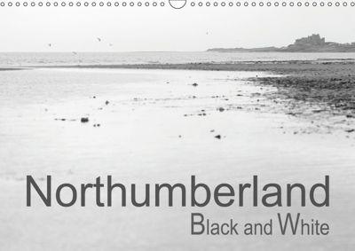 Northumberland Black and White (Wall Calendar 2019 DIN A3 Landscape), Martin Ellis