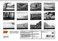 Northumberland Black and White (Wall Calendar 2019 DIN A3 Landscape) - Produktdetailbild 13