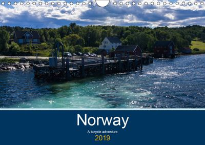 Norway - A bike adventure (Wall Calendar 2019 DIN A4 Landscape), Lille Ulven Photography (Wiebke Schroeder)