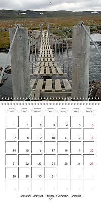 Norway: Crossing the Hardangervidda (Wall Calendar 2019 300 × 300 mm Square) - Produktdetailbild 1