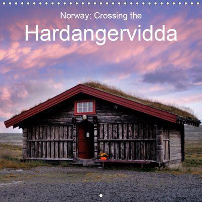 Norway: Crossing the Hardangervidda (Wall Calendar 2019 300 × 300 mm Square), Matthias Aigner