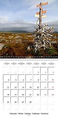 Norway: Crossing the Hardangervidda (Wall Calendar 2019 300 × 300 mm Square) - Produktdetailbild 2