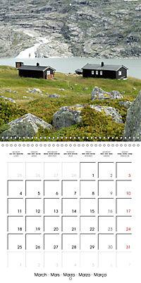 Norway: Crossing the Hardangervidda (Wall Calendar 2019 300 × 300 mm Square) - Produktdetailbild 3
