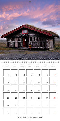 Norway: Crossing the Hardangervidda (Wall Calendar 2019 300 × 300 mm Square) - Produktdetailbild 4