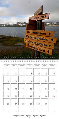 Norway: Crossing the Hardangervidda (Wall Calendar 2019 300 × 300 mm Square) - Produktdetailbild 8