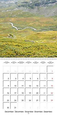 Norway: Crossing the Hardangervidda (Wall Calendar 2019 300 × 300 mm Square) - Produktdetailbild 12