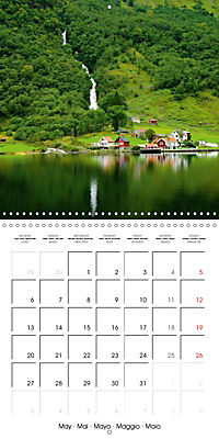 Norway Land of the Vikings and fairy tales (Wall Calendar 2019 300 × 300 mm Square) - Produktdetailbild 5