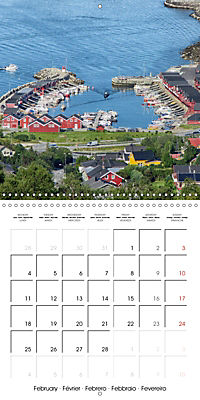 Norway Land of the Vikings and fairy tales (Wall Calendar 2019 300 × 300 mm Square) - Produktdetailbild 2