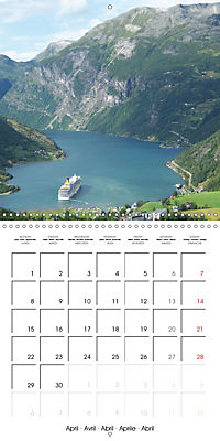 Norway Land of the Vikings and fairy tales (Wall Calendar 2019 300 × 300 mm Square) - Produktdetailbild 4