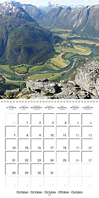 Norway Land of the Vikings and fairy tales (Wall Calendar 2019 300 × 300 mm Square) - Produktdetailbild 10