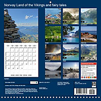 Norway Land of the Vikings and fairy tales (Wall Calendar 2019 300 × 300 mm Square) - Produktdetailbild 13