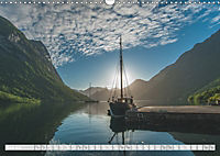 Norway / UK-Version (Wall Calendar 2019 DIN A3 Landscape) - Produktdetailbild 6