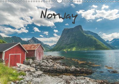 Norway / UK-Version (Wall Calendar 2019 DIN A3 Landscape), Roman Burri
