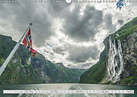 Norway / UK-Version (Wall Calendar 2019 DIN A3 Landscape) - Produktdetailbild 3