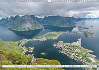 Norway / UK-Version (Wall Calendar 2019 DIN A3 Landscape) - Produktdetailbild 9