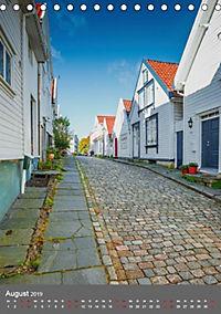 Norwegen - Altstadt Gamle Stavanger (Tischkalender 2019 DIN A5 hoch) - Produktdetailbild 8