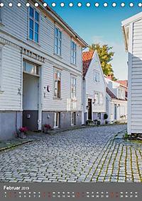 Norwegen - Altstadt Gamle Stavanger (Tischkalender 2019 DIN A5 hoch) - Produktdetailbild 2