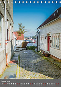 Norwegen - Altstadt Gamle Stavanger (Tischkalender 2019 DIN A5 hoch) - Produktdetailbild 3