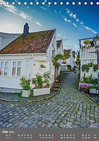 Norwegen - Altstadt Gamle Stavanger (Tischkalender 2019 DIN A5 hoch) - Produktdetailbild 5