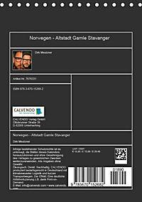 Norwegen - Altstadt Gamle Stavanger (Tischkalender 2019 DIN A5 hoch) - Produktdetailbild 13