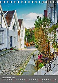 Norwegen - Altstadt Gamle Stavanger (Tischkalender 2019 DIN A5 hoch) - Produktdetailbild 9